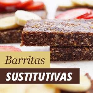 Barritas sustitutivas de comida