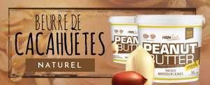 BEURRE DE CACAHUÈTES HSNFood
